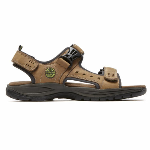 Dunham NEWPORT NOLAN ADJUSTABLE SANDAL TAN