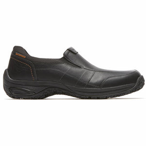 Dunham LUDLOW LITCHFIELD SLIP ON BLACK