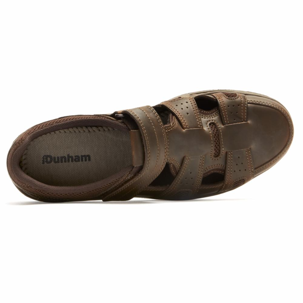 Dunham D FITSMART FISHERMAN BROWN