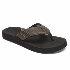 Dunham CARTER FLIP FLOP THONG BROWN