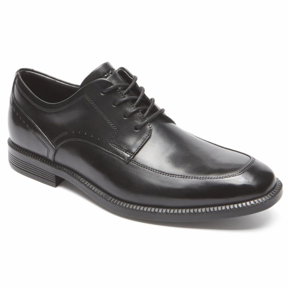 Rockport Men DRESSPORTS BUSINESS APRON TOE BLACK
