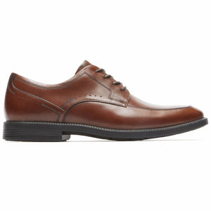 Rockport Men DRESSPORTS BUSINESS APRON TOE NEW BROWN