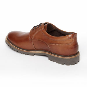 Rockport Men MARSHALL PT OXFORD COGNAC/LEATHER