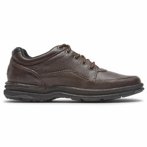Rockport Men WORLD TOUR CLASSIC BROWN/TUMBLED