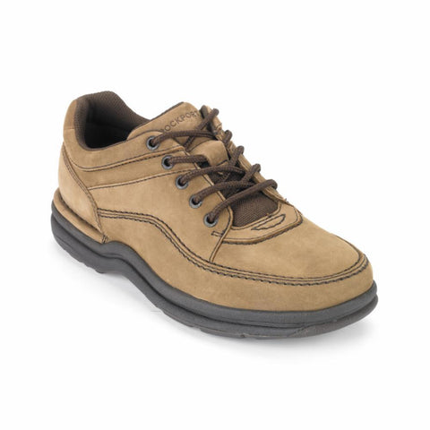 Rockport Men WORLD TOUR CLASSIC CHOCOLATE/NUBUCK