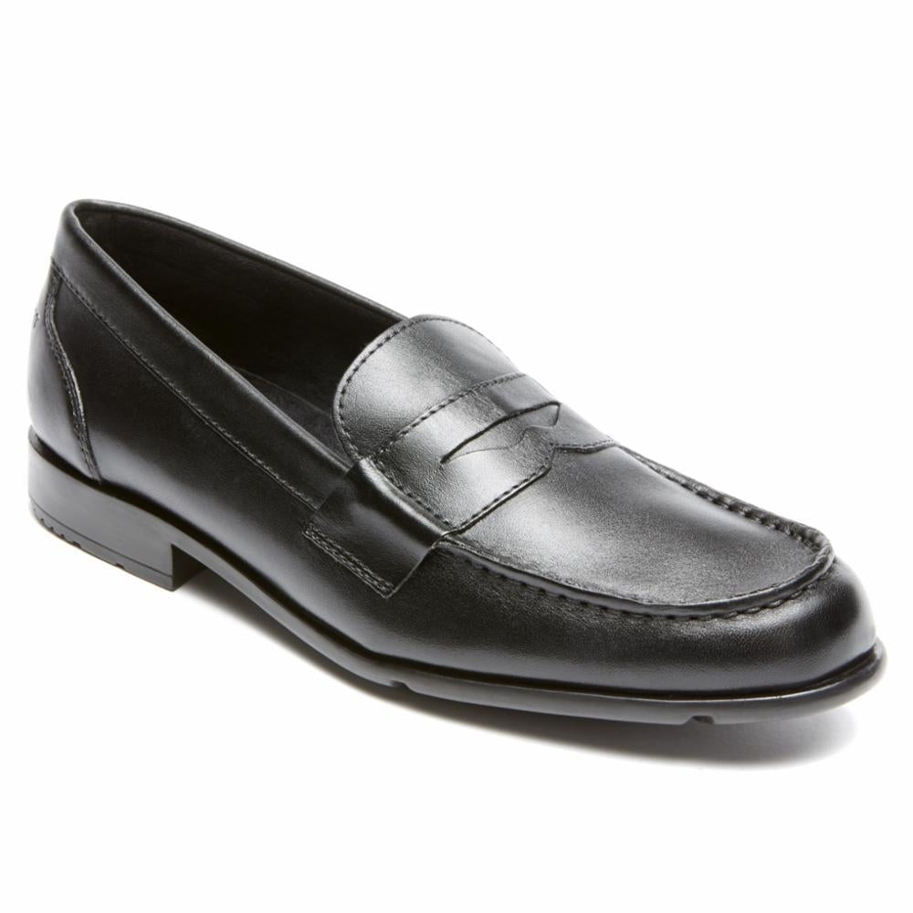 Rockport Men CLASSIC LOAFER LITE PENNY BLACK II