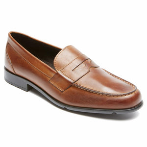Rockport Men CLASSIC LOAFER LITE PENNY COGNAC