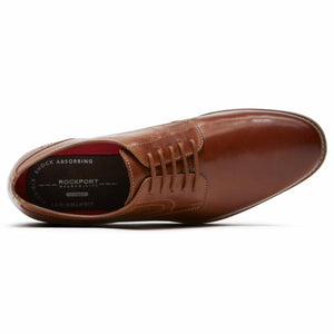 Rockport Men STYLE PURPOSE PLAIN TOE TAN