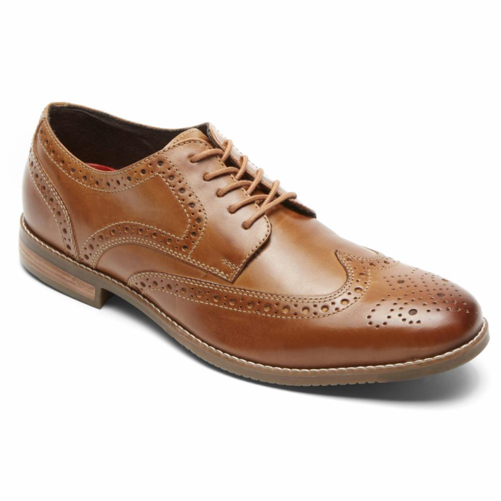 Rockport Men STYLE PURPOSE WING TIP TAN