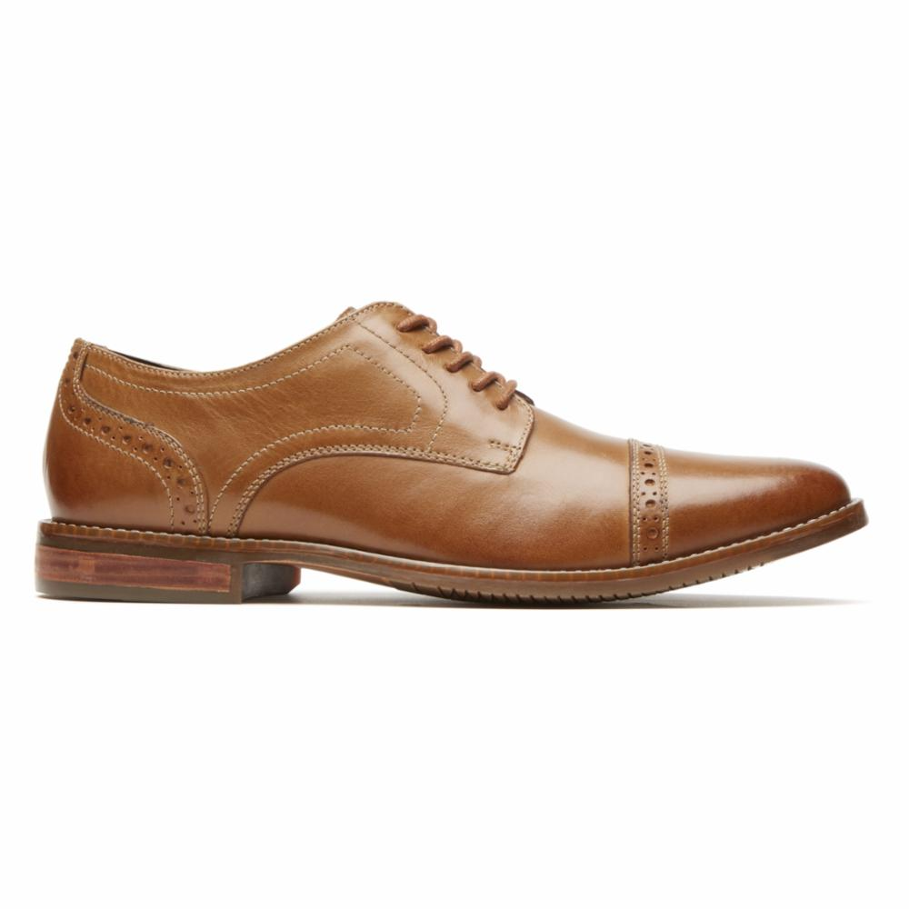 Rockport Men STYLE PURPOSE CAP TOE TAN