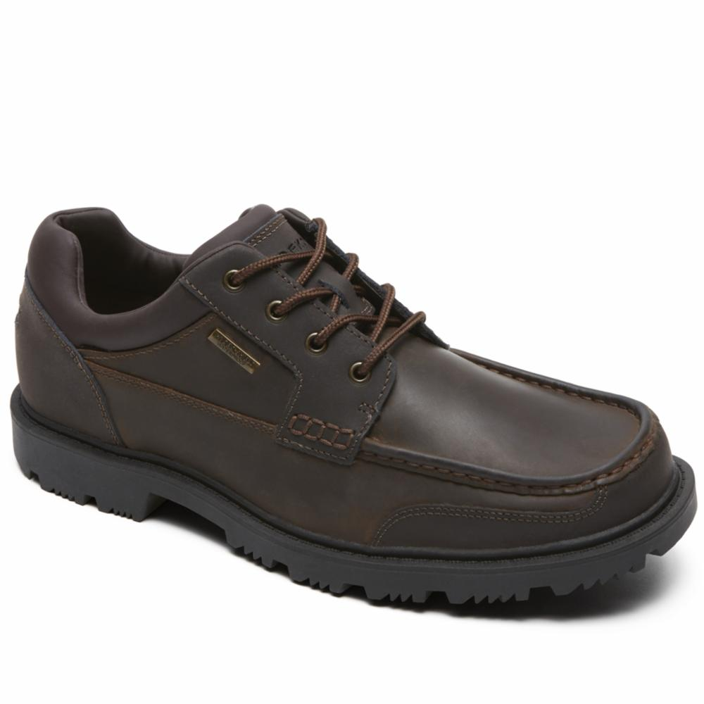 Rockport Men REDEMPTION ROAD MOC TOE OX DARK BROWN