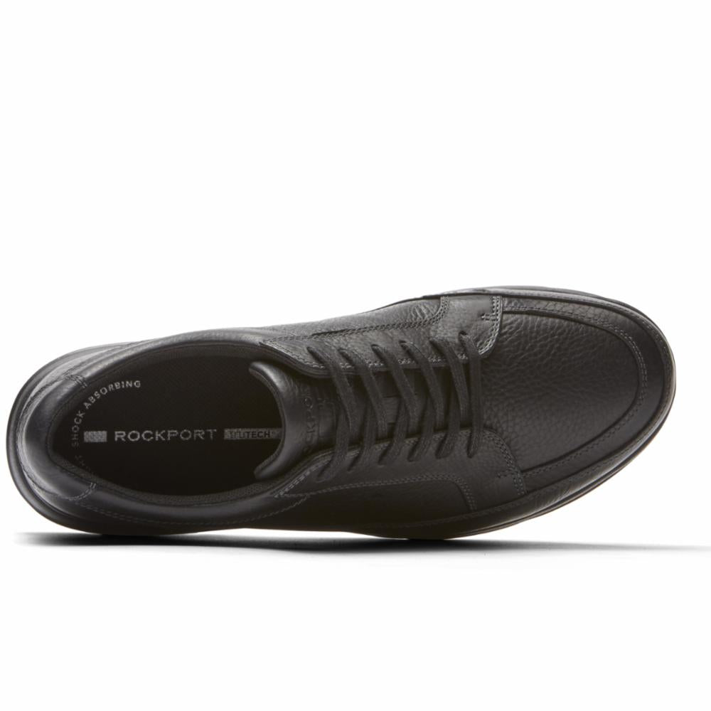 Rockport Men CITY PLAY TWO LACE TO TOE BLACK