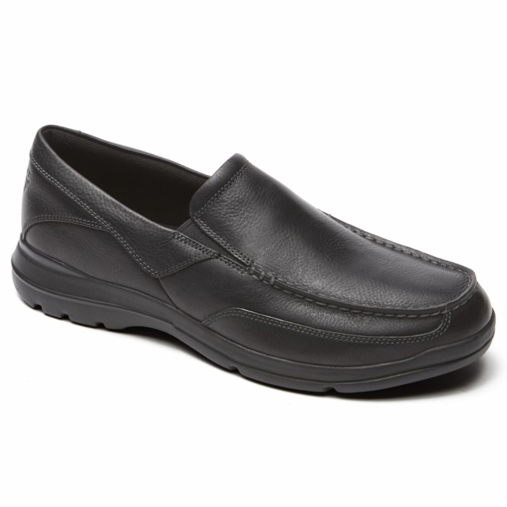 Rockport Men CITY PLAY TWO SLIP ON BLACK