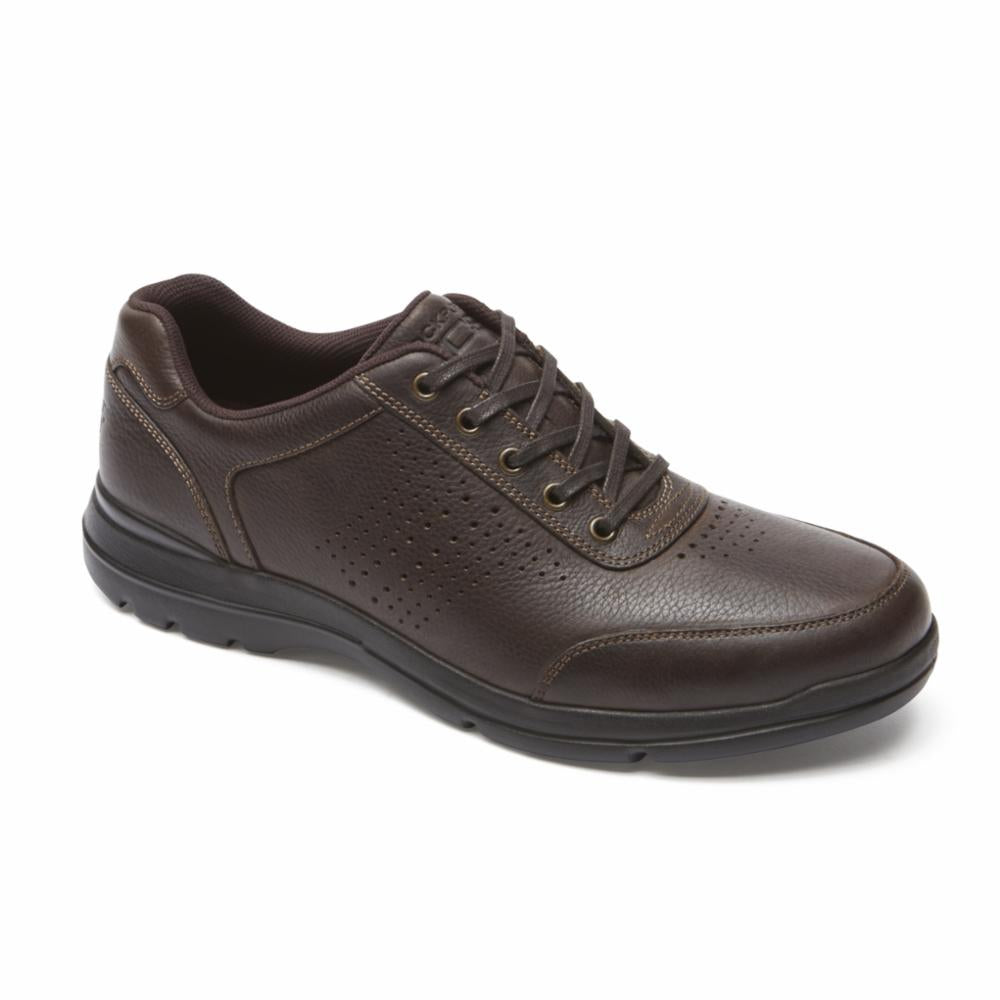 Rockport Men CITY PLAY TWO PERF UBAL BROWN