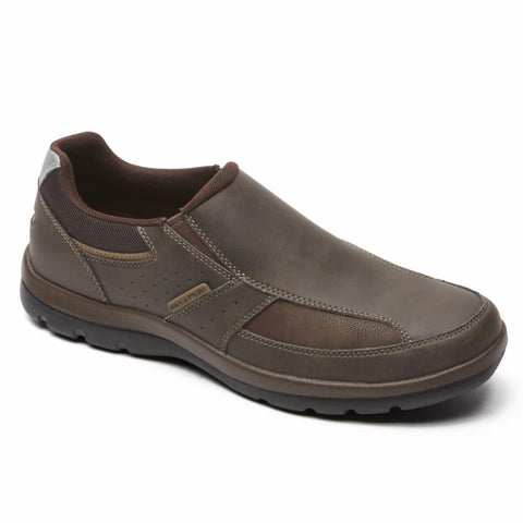 Rockport Men GET YOUR KICKS SLIP ON BROWN