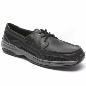 Dunham WATERFORD CAPTAIN BOAT SHOE BLACK