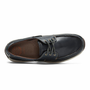 Dunham WATERFORD CAPTAIN BOAT SHOE NAVY