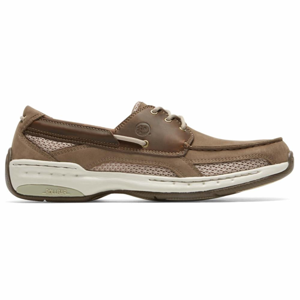 Dunham WATERFORD CAPTAIN BOAT SHOE TAUPE