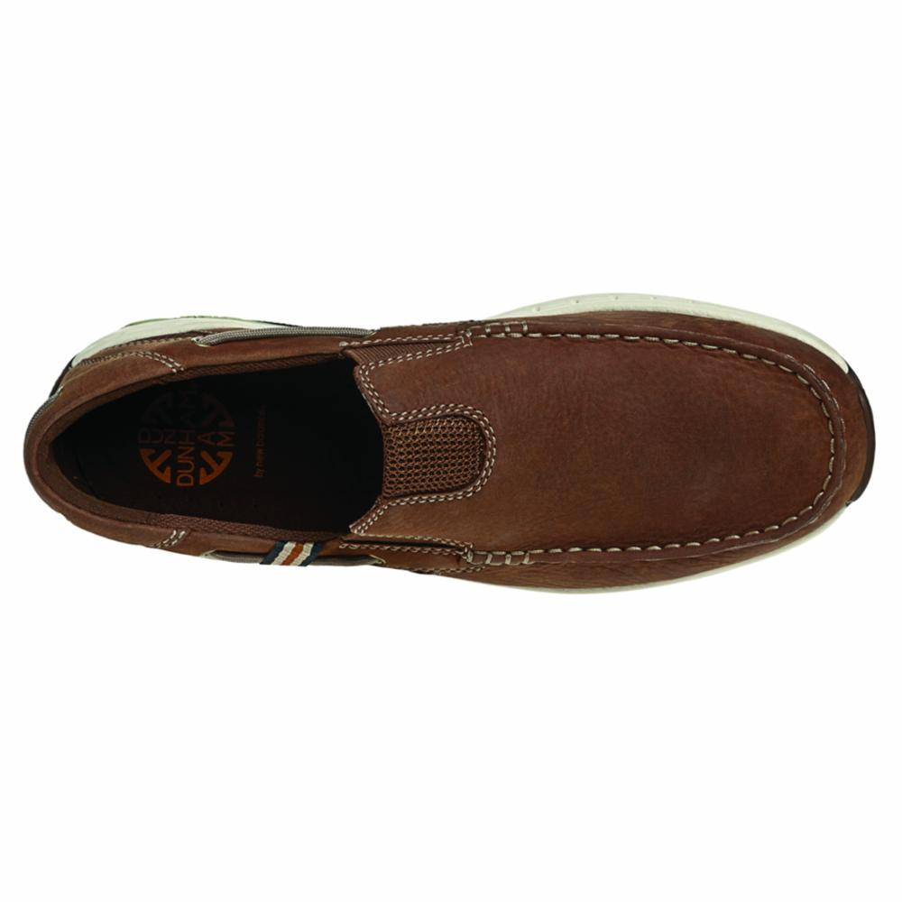 Dunham WATERFORD WINDWARD SLIP-ON BROWN