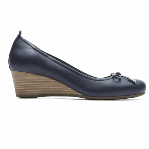 Rockport Women TOTAL MOTION 45MW TIED PUMP D OCEAN/NAPPA