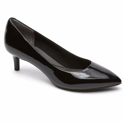 Rockport Women TOTAL MOTION KALILA PUMP BLACK/PATENT