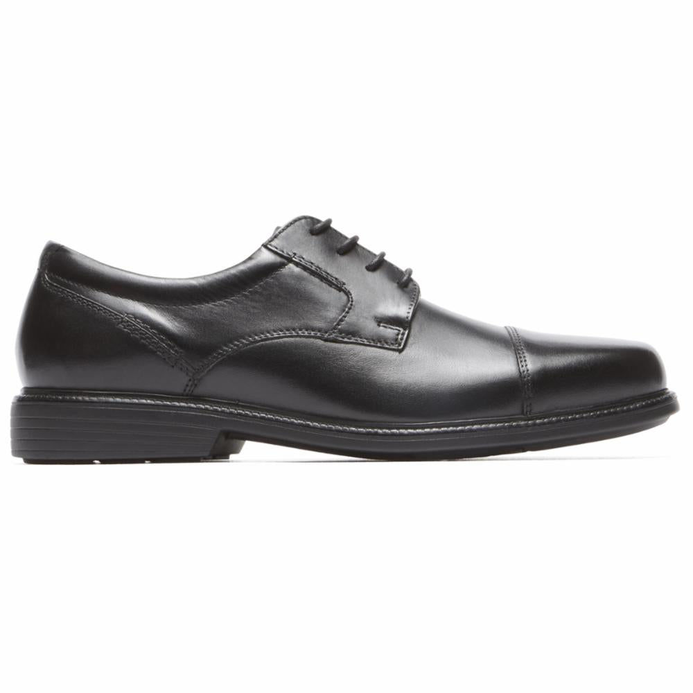 Rockport Men CHARLES ROAD CAPTOE BLACK