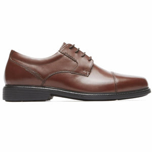 Rockport Men CHARLES ROAD CAPTOE TAN II