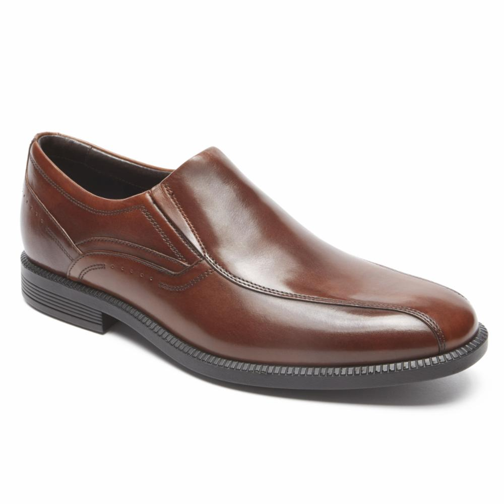 Rockport Men DRESSPORTS MODERN BIKE TOE SO NEW BROWN