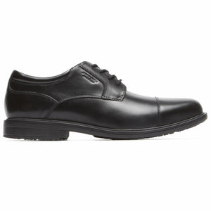Rockport Men ESSENTIAL DETAILS II CAPTOE BLACK/LEATHER