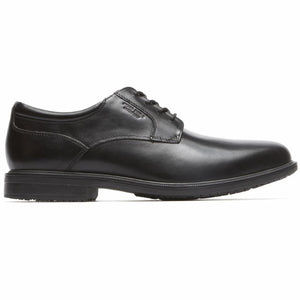 Rockport Men ESSENTIAL DETAILS II PLAIN TOE BLACK/LEATHER
