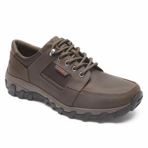 Rockport Men COLD SPRINGS PLUS LACE TO TOE DARK BROWN
