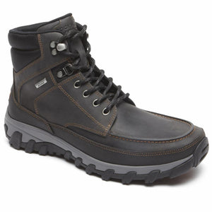 Rockport Men COLD SPRINGS PLUS MOC TOE BOOT CASTLEROCK GREY