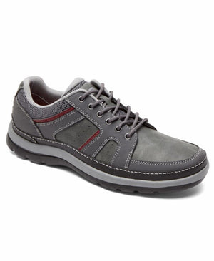 Rockport Men GET YOUR KICKS MDG BLUCHER CASTLEROCK GREY/LEATHER