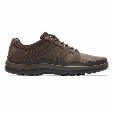 Rockport Men GET YOUR KICKS MDG BLUCHER DARK BROWN/LEATHER
