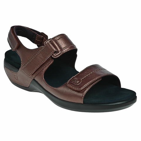 Aravon POWER COMFORT SANDALS KATY BRONZE