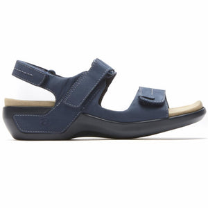 Aravon POWER COMFORT SANDALS KATY NAVY