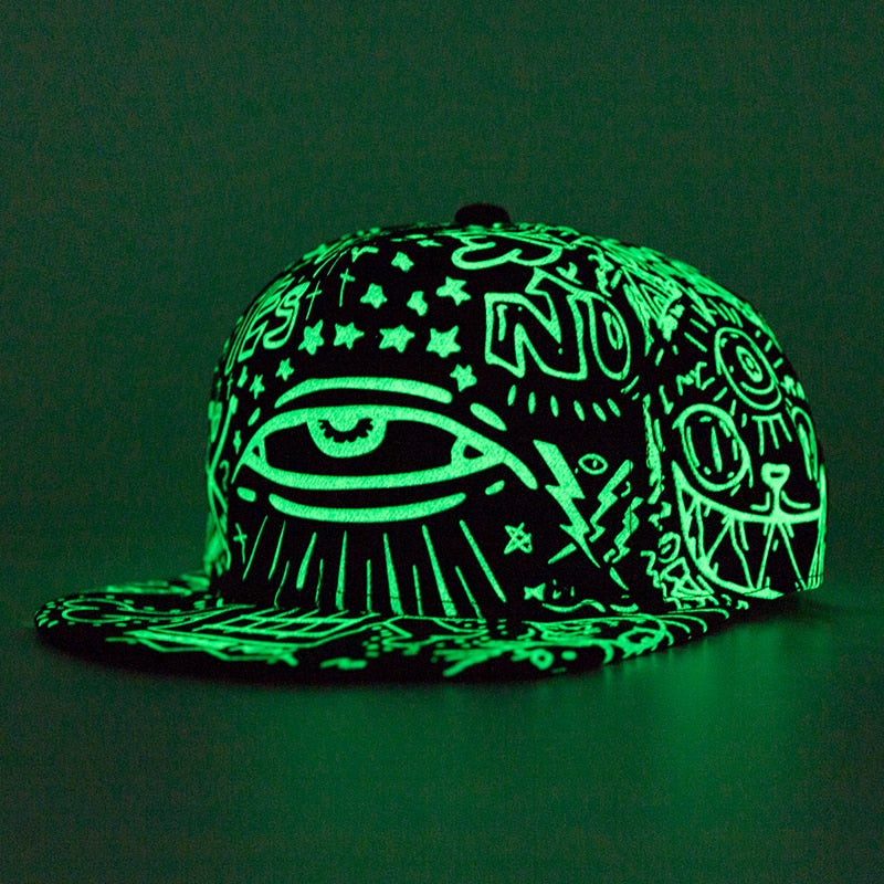 Fluorescence Baseball Cap for Women and Men