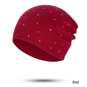 Fashion Pearl Winter Hat for Women