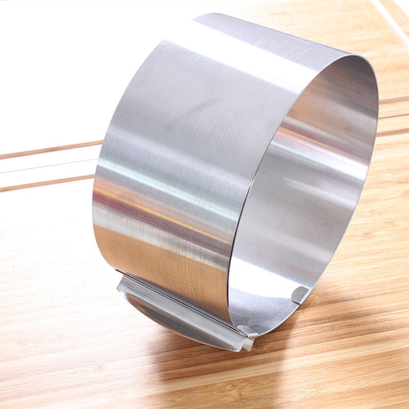 Retractable Stainless Steel Cake Ring