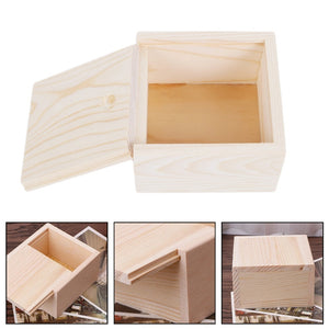 Handmade Jewelry Storage Box - Wood