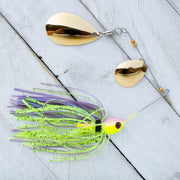 "Crusher Lures-Cliff Crochet ""Petite"" Colorado/Indiana Spinnerbait-Spinner & Buzz Baits"