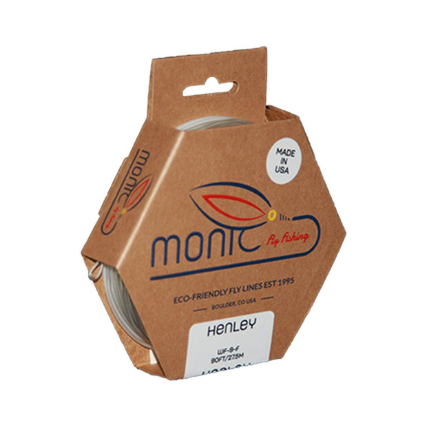 Monic Fly Lines-Henley Clear-Fly Line