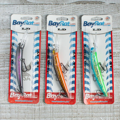"Bay Rat Lures-Long Deep Diver 5.25""-Hard Baits"