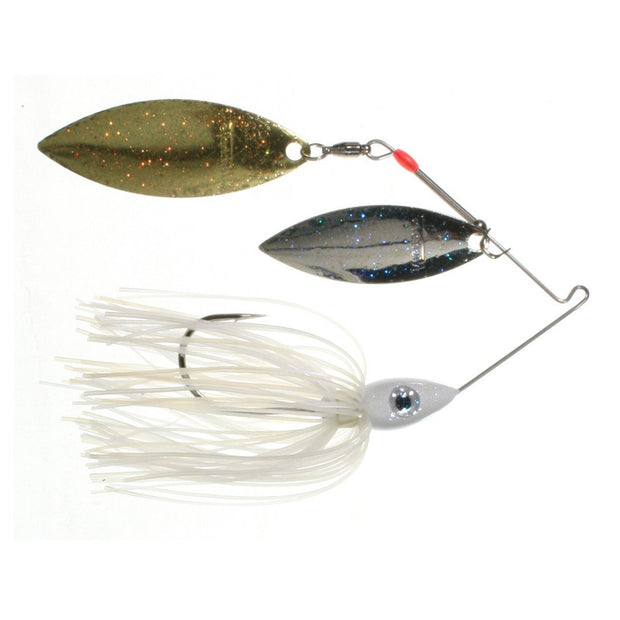 Nichols Lures-Metal Flake Double Willow Spinnerbait-Spinner & Buzz Baits