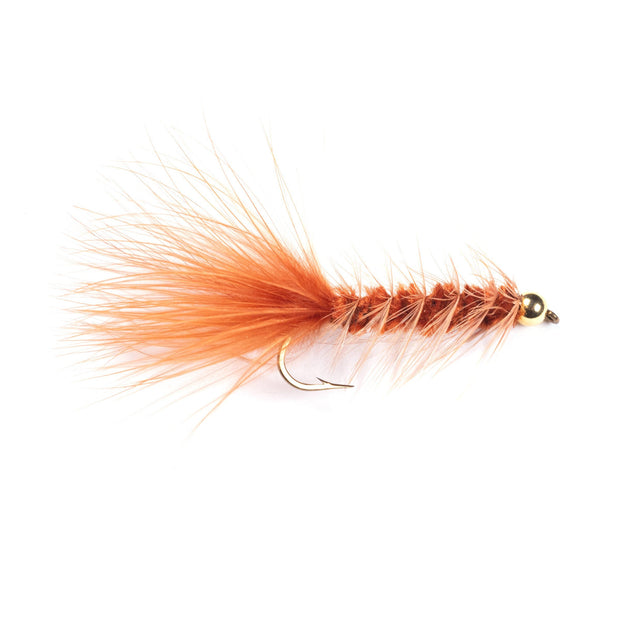 Hand-tied Flies-Woolly Bugger Bead Head-Wet Flies