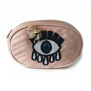 Evil Eye Belt Bag - Vegan Leather