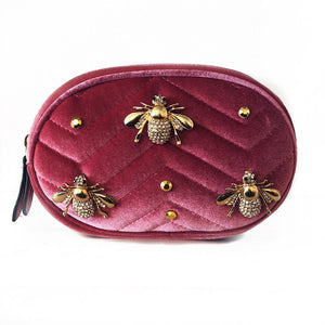 'CRYSTAL BEES' BELT BAG- As seen in Vogue