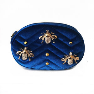 Bumble Bee Belt Bag - Velvet