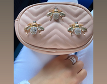 Load image into Gallery viewer, 'CRYSTAL BEES' BELT BAG- As seen in Vogue