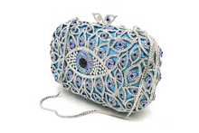 Load image into Gallery viewer, 'CRISOULA' EVIL EYE PROTECTION CRYSTAL CLUTCH